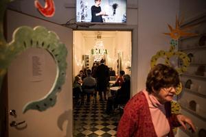 Öppet hus hos Ateljéföreningen Nisserska huset bjöd på öppna ateljéer.