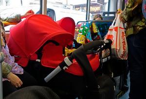 Regeringen har gett VIT uppdraget att utreda hur det ser ut med bältesanvändningen på svenska bussar.Foto Hasse Holmberg / TT