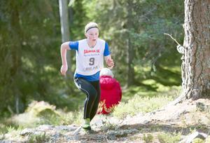 Molly Furunäs från IFK Grängesberg vann flickklassen.