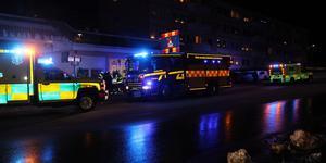 Trafikolyckan på Bryggaregatan.