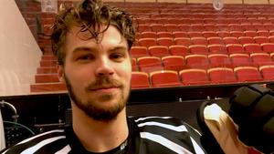 Emil Molin gör comeback i Brynäs mot Rögle efter sex års frånvaro.