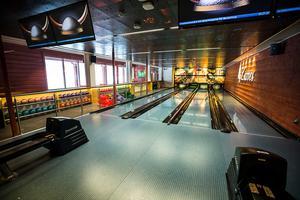 Bowling är en av de många saker som kan göras i M-Huset