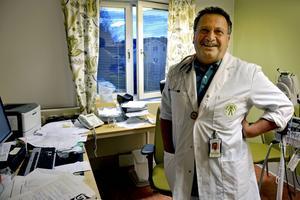 Läkaren och vårdföretagaren Hassan Soleymanpur vill öppna en vårdcentral på Alnö där han även vill satsa på kemlab, fyslab och röntgen.