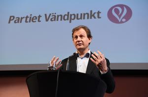 Carl Schlyter, Partiet Vändpunkt. Foto: TT