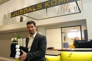 Kommunalrådet Markus Evensson på Ljusdals kommun.