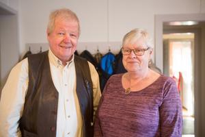 Medlemmarna Sören Sjöholm och Britt-Marie Ericsson.