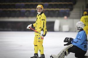 Viktor Törner i Åby/Tjureda – en av alla som saknar Micke Olsson.
