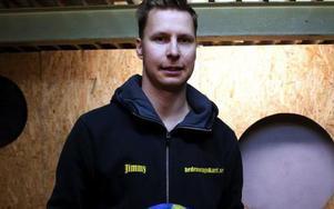 Racingföraren Jimmy Jacobsson har storslagna planer för nästa säsong. Foto: Pernilla söderberg