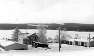 1967 byggdes pensionärslägenheter i Kjösta.