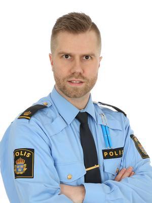 David Redin, gruppchef vid Jämtlandspolisens utredningsgrupp.