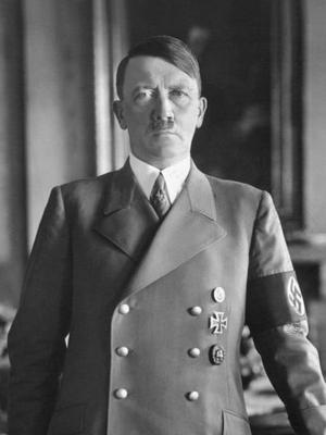 Adolf Hitler 1938. Foto: Okänd