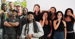 Badinkunda och The Forbidden Orchestra är två av fem akter som binder ihop Urkults artistutbud 2018. Foto: Montage/pressbild