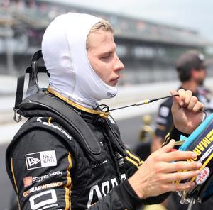 Marcus Ericsson var mycket besviken på sig själv efter misstaget som förstörde hans debut i Indy 500.