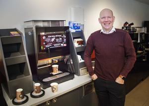 – Vi är Sveriges  största familjeföretag i vår bransch, säger Jonas Ahlborg. Han vill inte sälja rörelsen till Gevalias ägare Jacobs Douwe Egberts som äger 18 andra Jobmeal-företag i Sverige.