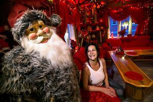 Marie Kvammen älskar julen, tycker att människor blir extra snälla då.