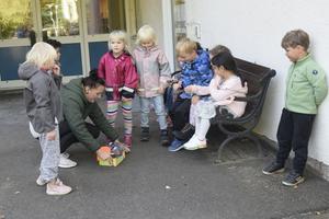 Det borgerliga styret i Norrtälje kommun hävdar envist att det satsar på förskolan och vill ha ett blandat utbud av kommunalt och privat. Ändå är de kommunala förskolorna pressade, skriver fem företrädare för Vänsterpartiet Norrtälje.