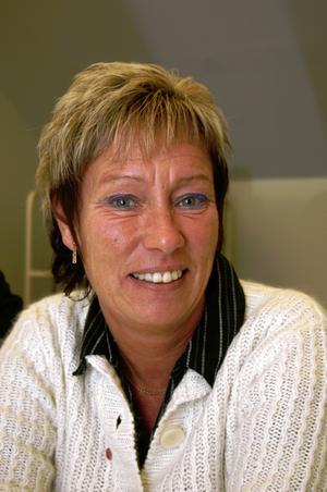 Rose-Marie Isaksson, S, ordförande i utbildningsnämnden Heby kommun. Foto: Elisabeth Åstrand