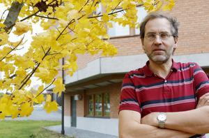 Torbjörn Skytt är universitetsadjunkt på Mittuniversitetet och har bland annat studerat länets klimatpåverkan.