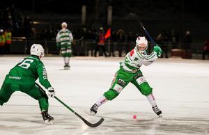 Martin Landström gjorde 20 mål under grundserien. 30 färre än vad Villas skyttekung Joakim Andersson smällde in.