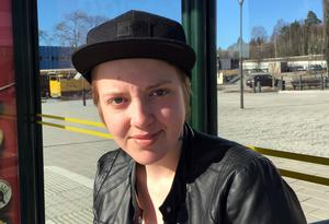 Nathalie Andersson, 20 år, arbetslös, Timrå
