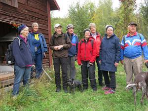 Några av deltagarna samlade på bild. Foto: Karin Simes
