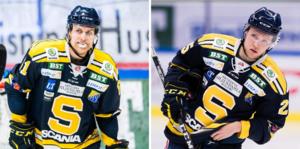 Martin Janolhs och Christopher Bengtsson får spela tillsammans igen. Foto: Bildbyrån.