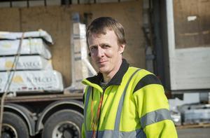 Jens Sjögren, 39 år, lastbilslots, Söråker