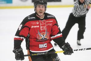 Conny Strömberg i HHC-tröjan.