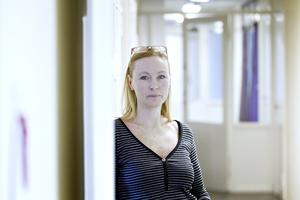 Anette, Almström Kovacic, ordförande på Lärarförbundet, är orolig inför åtstramningarna. Bilden är tagen i ett annat sammanhang.