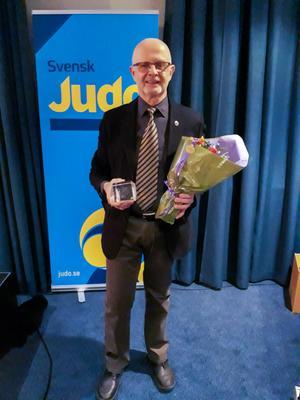 Benny Nyström från Rättviks judoklubb blev utsedd till årets ledare på judogalan i Göteborg.(foto: Privat)