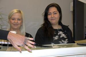 Det går bra för Kristin Larsson och Marte Carlsen, som har gjort verklighet av sin dröm att driva en skönhetssalong i Långshyttan.