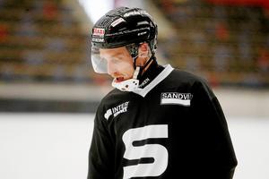 Erik Säfström finns med största sannolikhet med både mot Vänersborg, trots skadekänning, och i den svenska VM-truppen. FOTO: ANDREAS TAGG