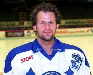 Markus Åkerblom inför säsongen 1998/99. Foto: Mikael Forslund