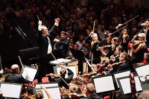 Gävle symfoniorkester kommer med full styrka till Slottescenen i Ljusdal på torsdag. Foto: Nikolaj Lund/Pressbild