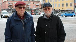 Rolf Pilgren och Ingvar Kjällberg.