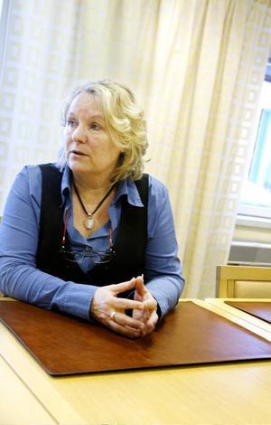 """""""Jag har faktiskt inte funderat så mycket på vad som händer när jag slutar här. Det tar jag då"""", säger Eva-Britt Tjärnström."""