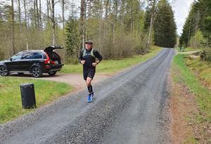 Ett halvt maraton sprangs i Gnosjö under lördagen.