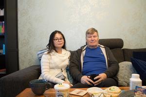 – Det klagas mycket på nedskärningar i vården. Men de gånger vi har varit på Norrtälje sjukhus har vi fått väldigt bra hjälp. Hela kedjan fungerar väldigt bra, säger Risto Koivula.