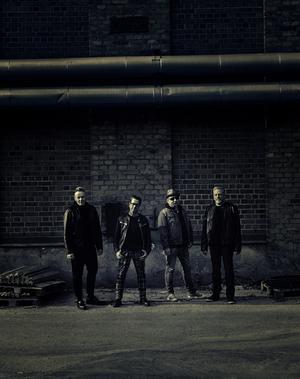 Desertörerna består av Tommie Samuelsson, Bobo Andersson, Robban Ekelund och Mikael Berglund. Bild: Pressbild.