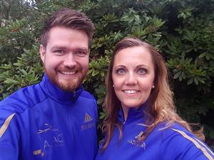 Borlängebon Thomas Gilén och Falubon Jessica Kåla drar igång en dansskola i Borlänge i höst; Thomas som tränare och Jessica som ägare/tränare.