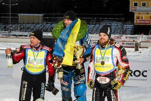 Niclas Svensson vann SM-guldet 2017, före pappa Stefan och Daniel Henderson. Vem som tar hem det i år vet vi om några timmar.