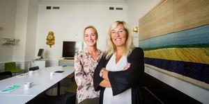 Åza Zastell och Eva Palmér har startat nätverket Women's business.