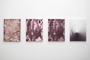 Målningar av Jakob Ojanen.Foto: Waldermarsudde