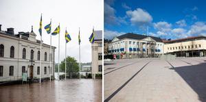 Insändarskribenten vill ha mer liv och rörelse kring Stora torget i Härnösand.
