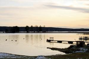 Utsiken över sjön Tisaren i Tisarbaden.