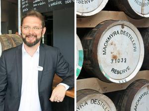 Magnus Dandanell, vd för Mackmyra whisky.