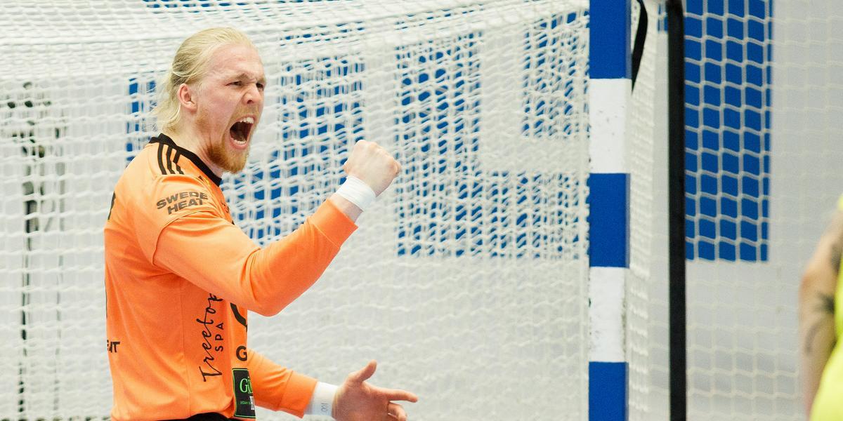 """Ödmjuk dansk målvakt spikade igen: """"Skövde kan bli betydligt bättre till på tisdag"""""""