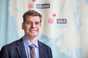Pontus Werlinder, fastighetschef Telge bostäder.