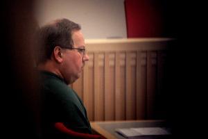 Anders Eklund begär att hans livstidsstraff ska tidsbestämmas. Foto: Henrik Hansson