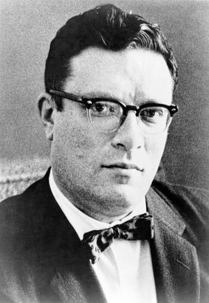 Den berömde science fiction-författaren Isaac Asimov under sent 1950-tal. Foto: Phillip Leonian